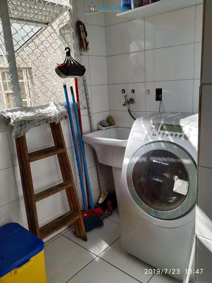 Apartamento com 2 dorms, Vila Mathias, Santos - R$ 330 mil, Cod: 10797