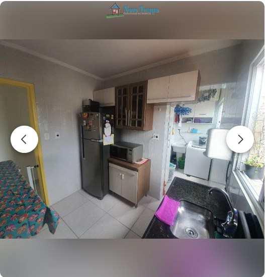 Apartamento com 2 dorms, Macuco, Santos - R$ 260 mil, Cod: 10852