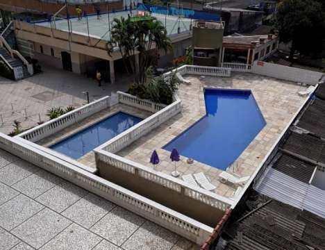 Apartamento com 1 dorm, Vila Belmiro, Santos - R$ 255 mil, Cod: 11051