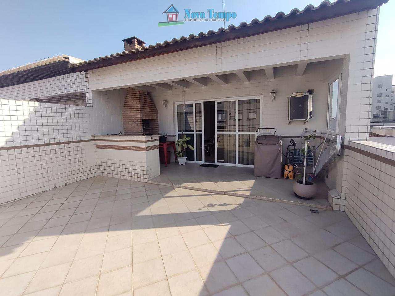Cobertura com 3 dorms, Boqueirão, Santos - R$ 900 mil, Cod: 11328