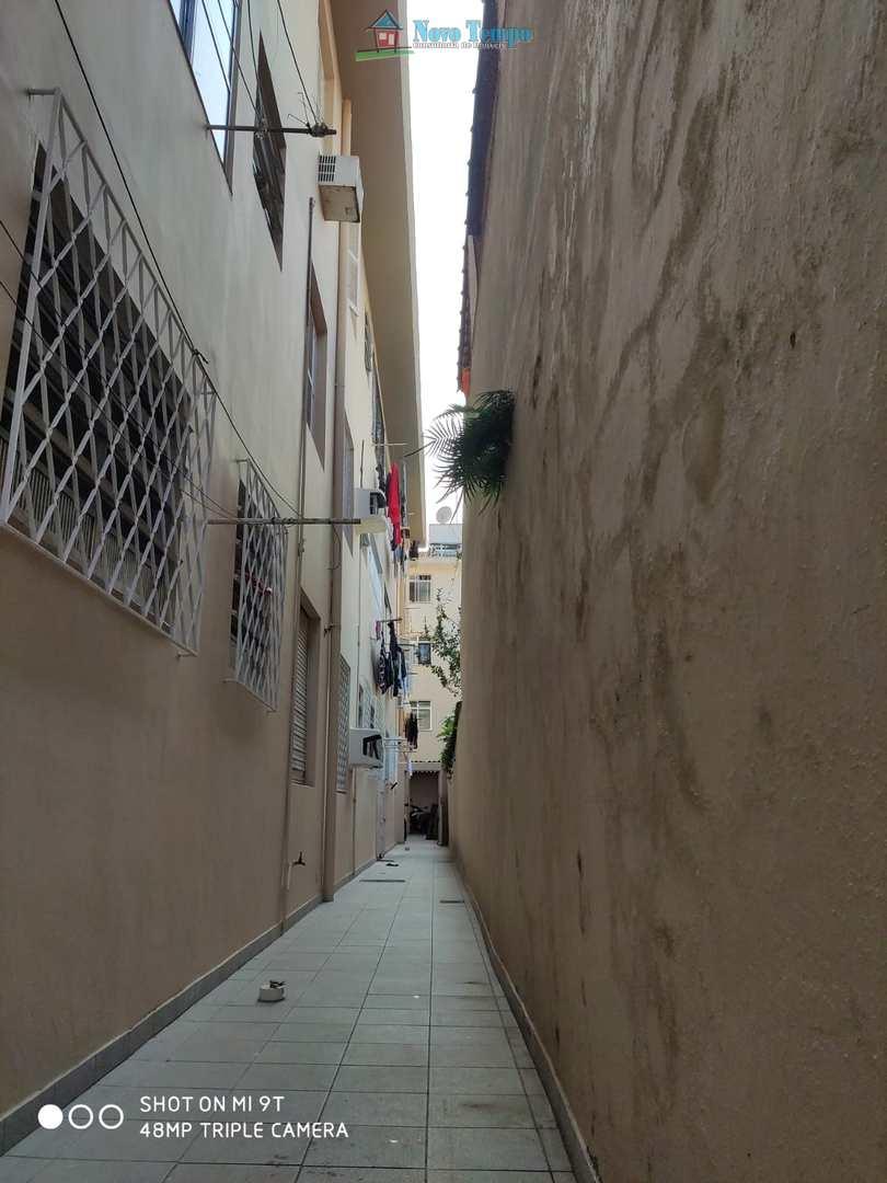 Apartamento com 2 dorms, Campo Grande, Santos - R$ 310 mil, Cod: 11481