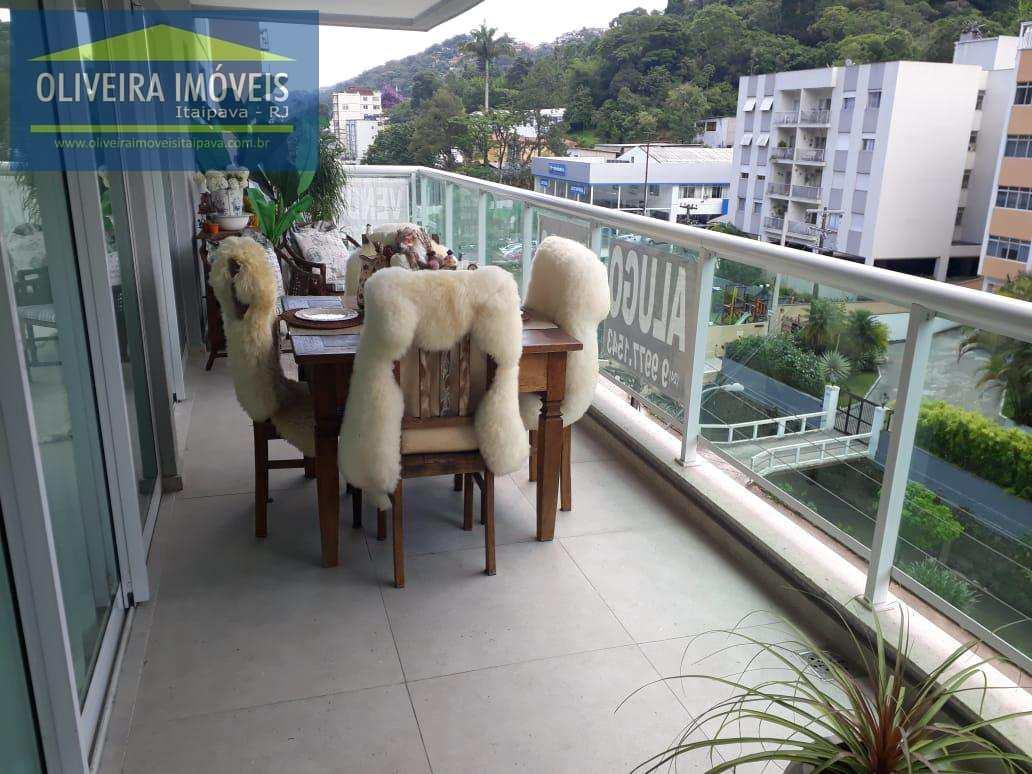 Apartamento com 3 dorms, Coronel Veiga, Petrópolis - R$ 860 mil, Cod: 12