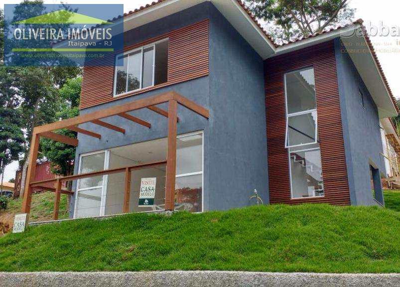 Casa de Condomínio com 3 dorms, Bonsucesso, Petrópolis - R$ 695 mil, Cod: 19