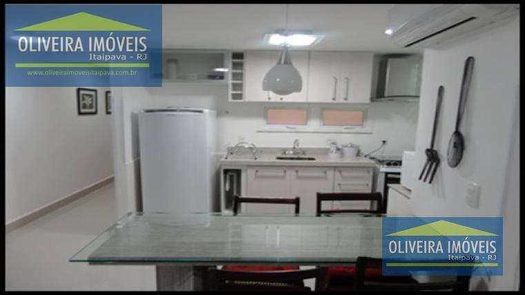 Apartamento com 1 dorm, Itaipava, Petrópolis - R$ 420 mil, Cod: 29