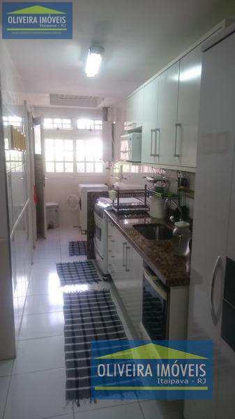 Apartamento com 3 dorms, Itaipava, Petrópolis - R$ 870 mil, Cod: 36