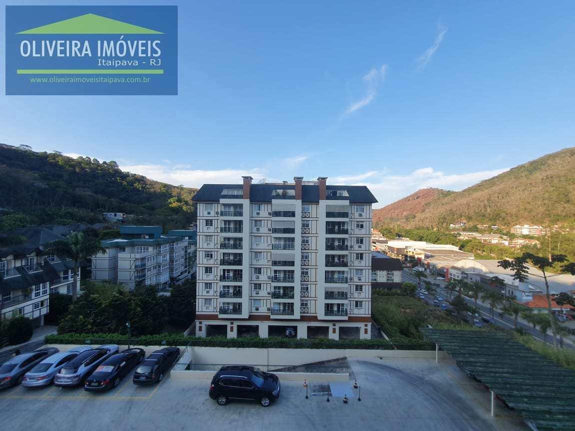 Apartamento com 2 dorms, Itaipava, Petrópolis - R$ 770 mil, Cod: 98