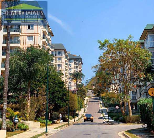 Apartamento com 1 dorm, Itaipava, Petrópolis - R$ 479 mil, Cod: 105