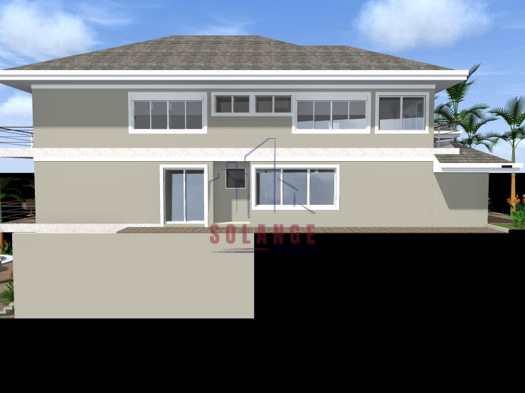 Casa em   construção condomínio  Villaggio di Fiori