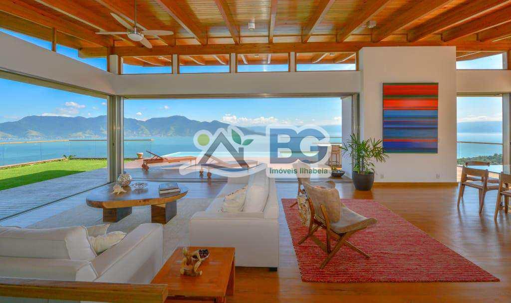 Casa em Ilhabela de altissimo padrão com vista espetacular