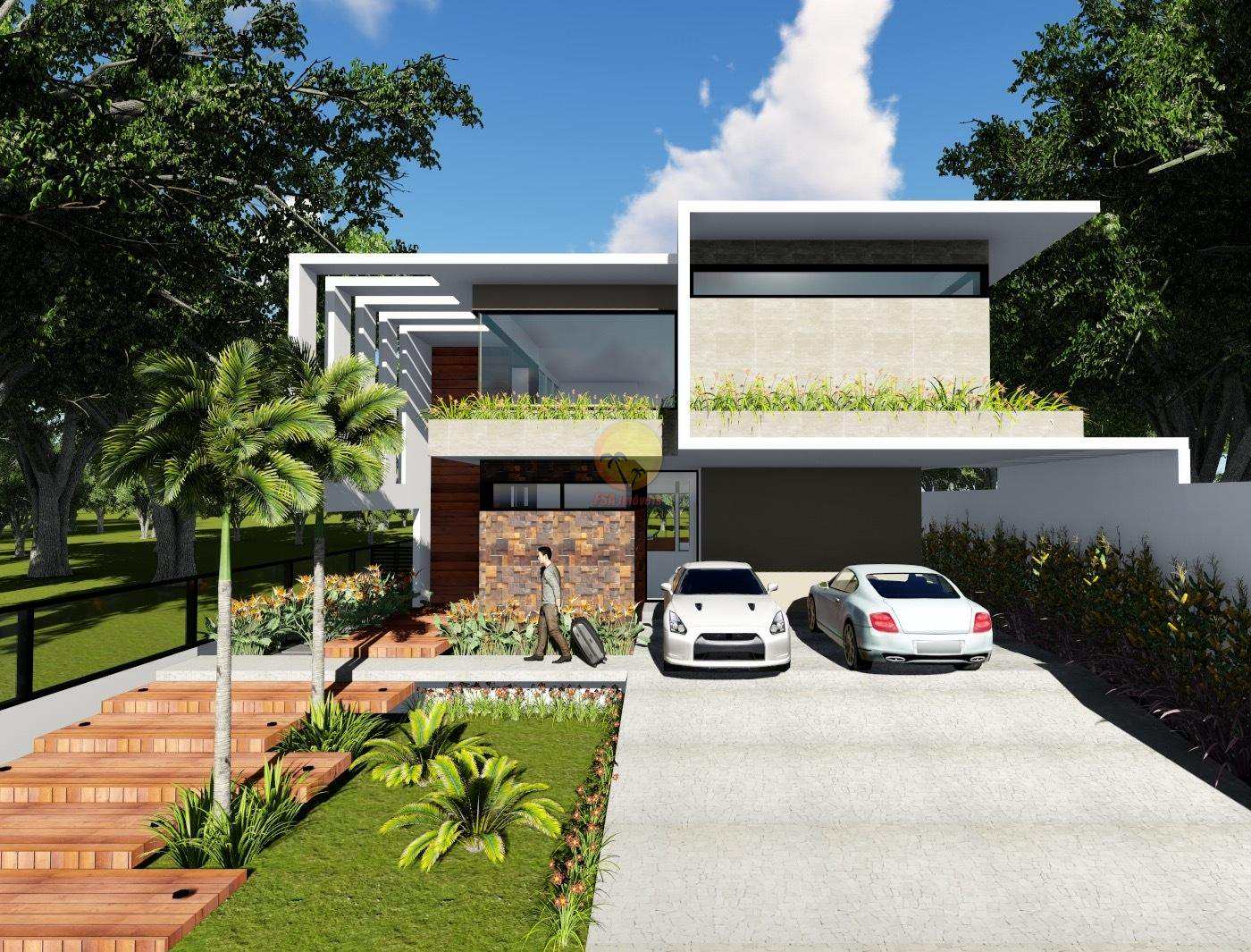 PERSPECTIVA FRONTAL - H12