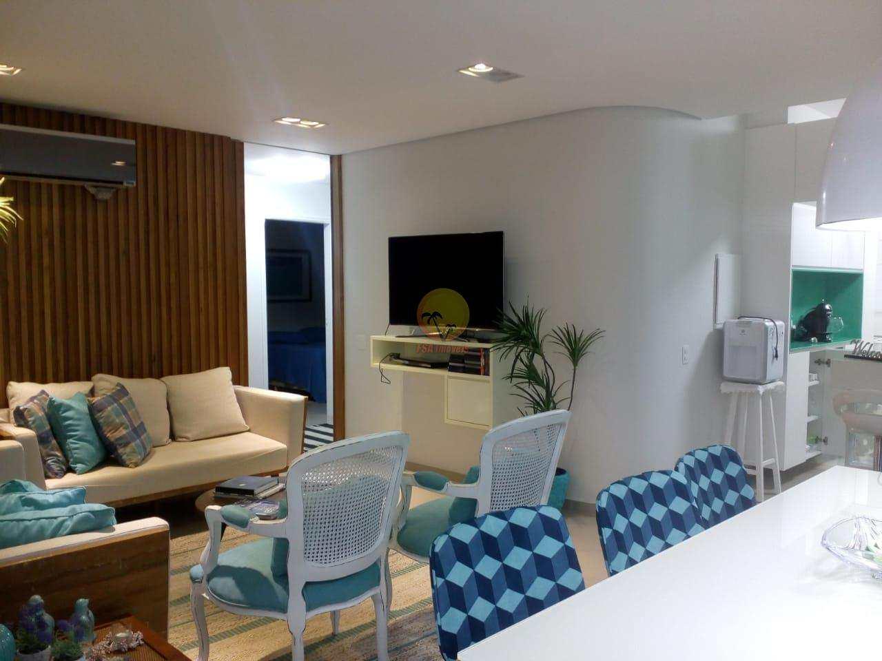 Apartamento com 3 dorms, Riviera de São Lourenço, Bertioga - R$ 1.100.000,00, 110m² - Codigo: 3397