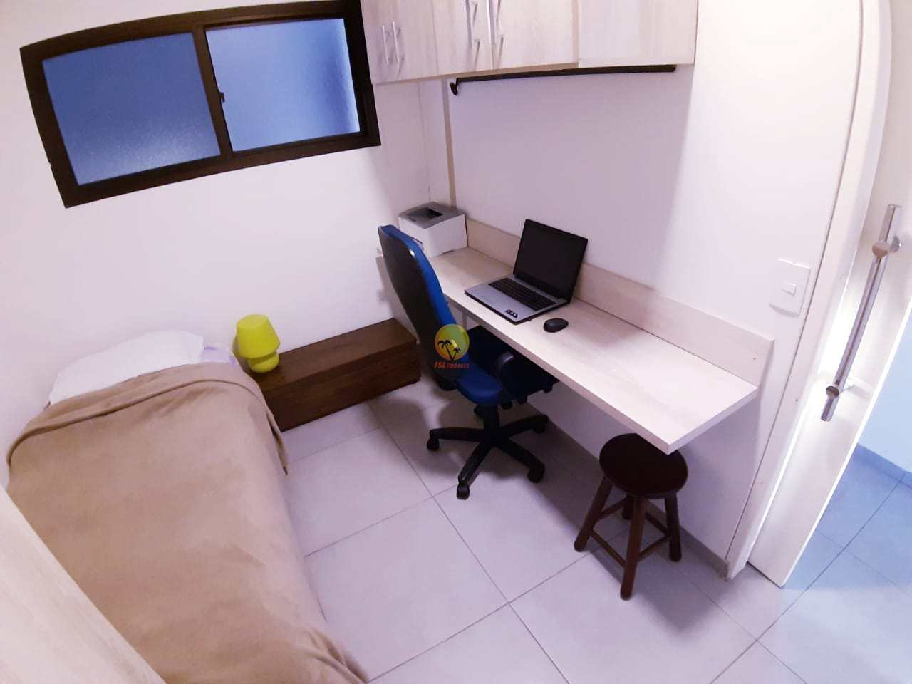 Apartamento a venda em Bertioga com 57 mts² úteis.