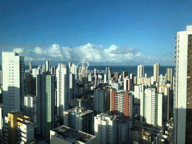 Flat com 2 dorms, Boa Viagem, Recife - R$ 450 mil, Cod: 1270