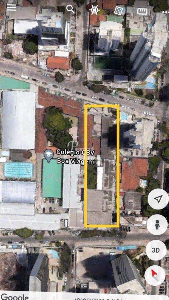 Terreno, Boa Viagem, Recife - R$ 14 mi, Cod: 1518