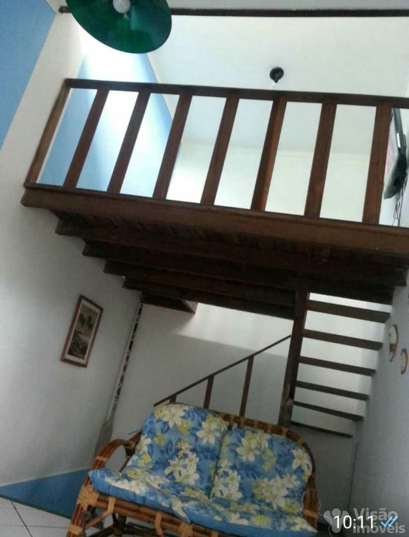Sobrado com 3 dorms, Jardim Pedreira, Ubatuba - R$ 320 mil, Cod: 1920151
