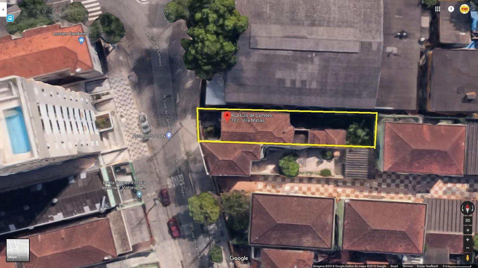 casa Luís de Camões 107 vista aérea