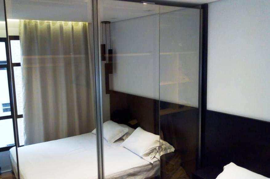 Flat com 1 dorm, Itararé, São Vicente - R$ 250 mil, Cod: 3242