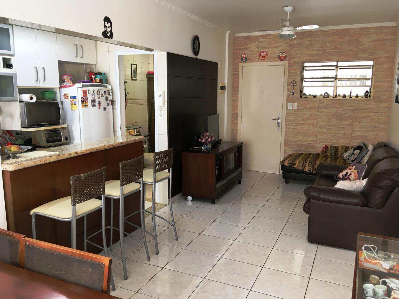 Apartamento com 1 dorm, Itararé, São Vicente, Cod: 3324