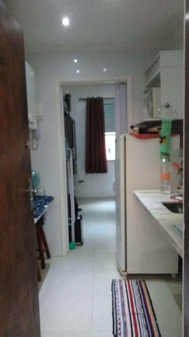Apartamento com 1 dorm, Centro, São Vicente - R$ 130 mil, Cod: 3386