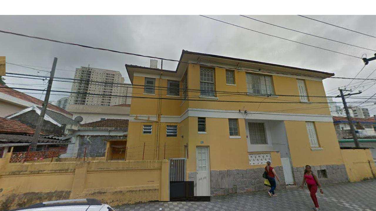 Casa com 2 dorms, Marapé, Santos - R$ 650 mil, Cod: 3401