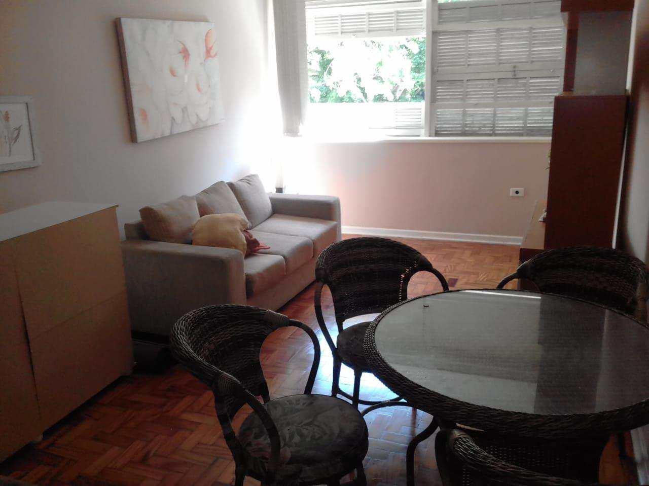 Apartamento com 1 dorm, Boqueirão, Santos - R$ 265 mil, Cod: 3411