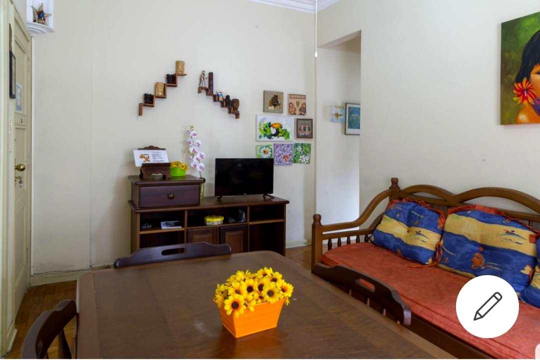 Apartamento com 1 dorm, José Menino, Santos, Cod: 3481