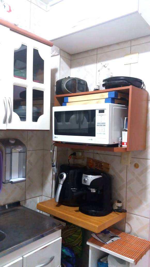 Sala Living com 1 dorm, Itararé, São Vicente - R$ 140 mil, Cod: 3528