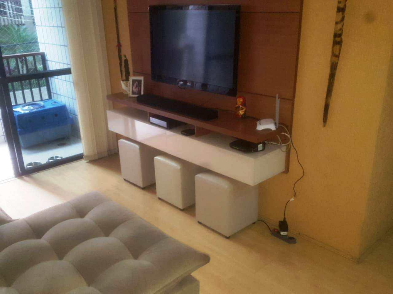 Apartamento com 2 dorms, Pompéia, Santos - R$ 450 mil, Cod: 3596