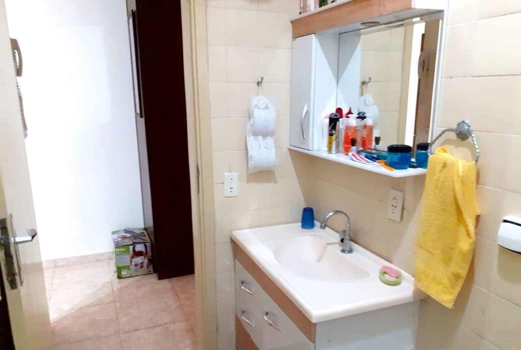 Apartamento com 1 dorm, José Menino, Santos - R$ 210 mil, Cod: 3624