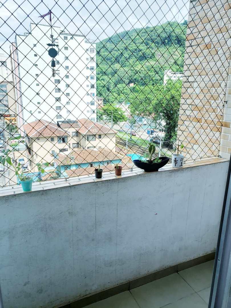 Apartamento com 1 dorm, José Menino, Santos - R$ 205 mil, Cod: 3696