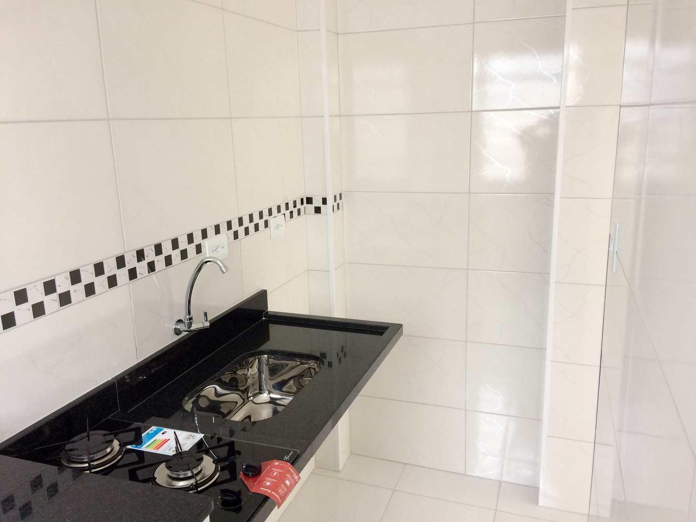 Sala Living com 1 dorm, Aparecida, Santos - R$ 195 mil, Cod: 3724