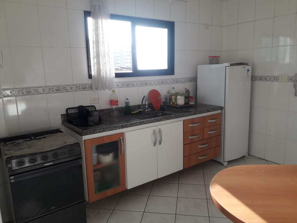 Apartamento com 2 dorms, Guilhermina, Praia Grande - R$ 260 mil, Cod: 3910