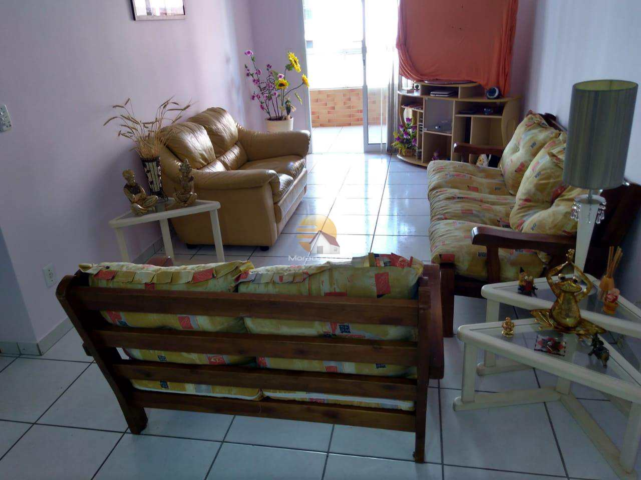 Apartamento com 2 dorms, Guilhermina, Praia Grande - R$ 320 mil, Cod: 4644