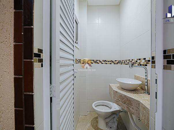 Sobrado com 2 dorms, Caiçara, Praia Grande - R$ 468 mil, Cod: 6174