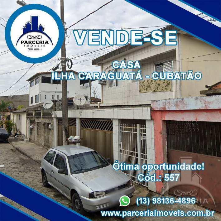 Casa com 2 dorms, Vila São Benedito, Cubatão - R$ 190 mil, Cod: 557