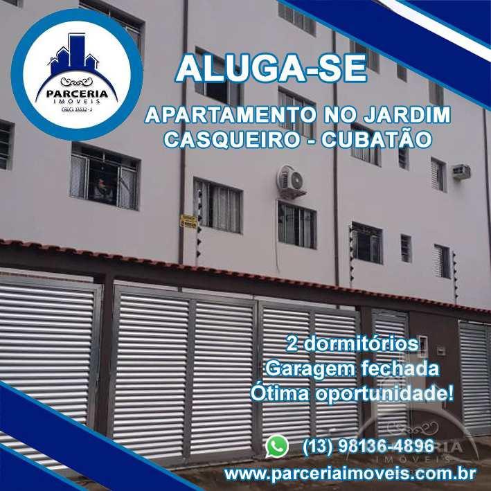 Apartamento com 2 dorms, Jardim Casqueiro, Cubatão - R$ 190 mil, Cod: 828