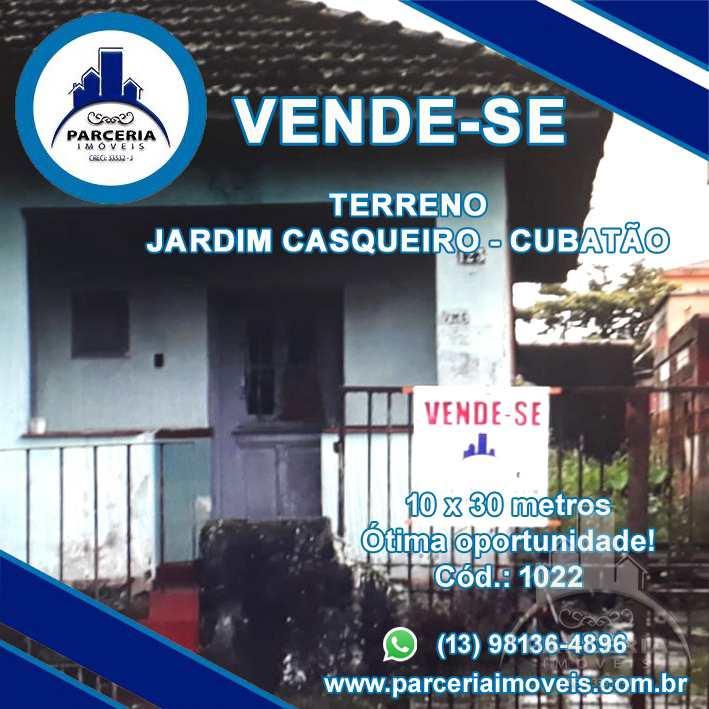 Casa com 2 dorms, Jardim Casqueiro, Cubatão - R$ 320 mil, Cod: 1022
