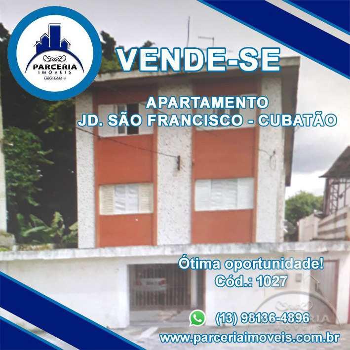 Apartamento com 2 dorms, Jardim São Francisco, Cubatão - R$ 200 mil, Cod: 1027