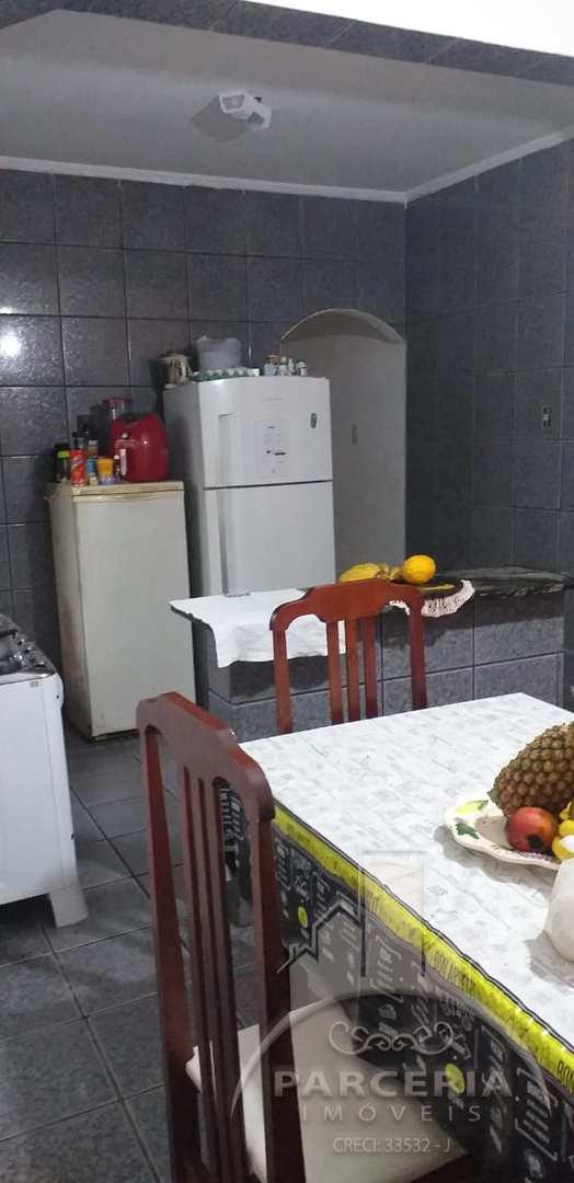 Casa com 3 dorms, Cidade Naútica, São Vicente - R$ 260 mil, Cod: 1035