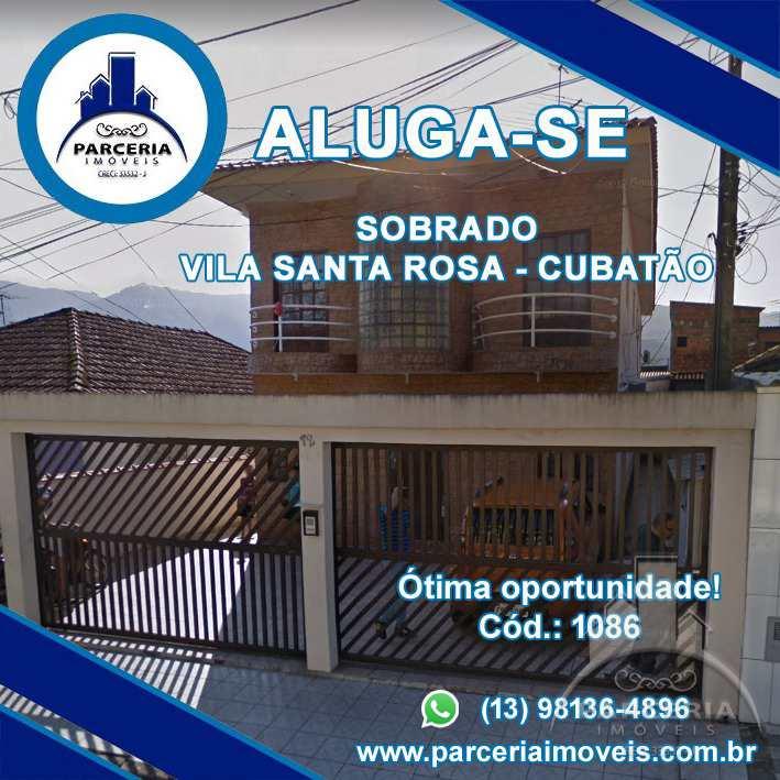 Apartamento com 2 dorms, Vila Santa Rosa, Cubatão, Cod: 1086