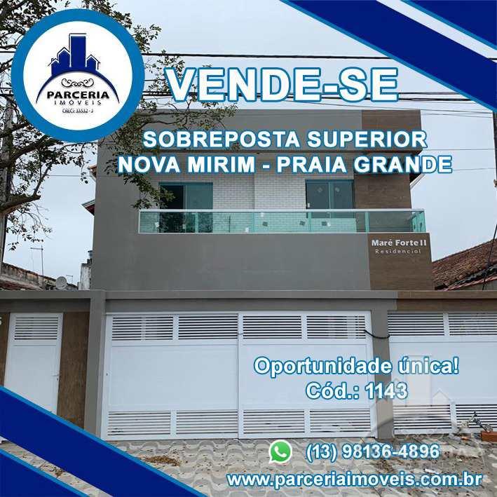 Casa com 2 dorms, Ocian, Praia Grande - R$ 220 mil, Cod: 1143