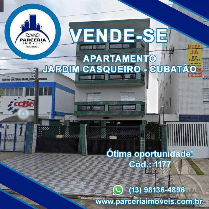 Apartamento com 2 dorms, Vila São Benedito, Cubatão - R$ 210 mil, Cod: 1177