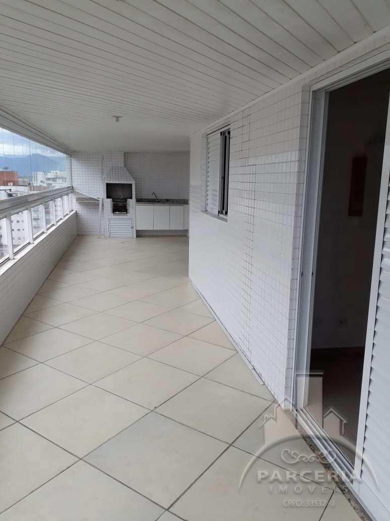Apartamento com 3 dorms, Guilhermina, Praia Grande - R$ 750 mil, Cod: 1184