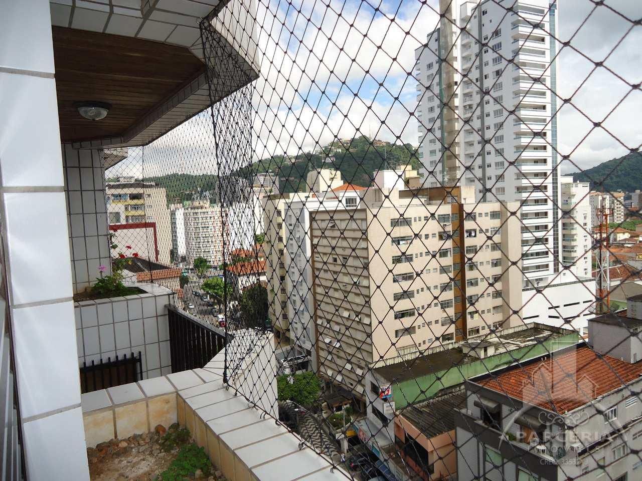 Apartamento com 3 dorms, José Menino, Santos, Cod: 1192