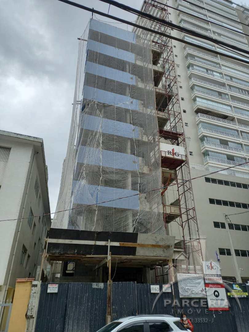 Apartamento com 1 dorm, Guilhermina, Praia Grande - R$ 220 mil, Cod: 1224