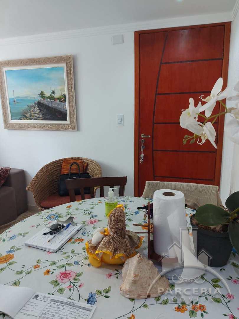 Apartamento com 1 dorm, Jardim Casqueiro, Cubatão - R$ 180 mil, Cod: 1313
