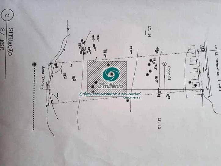 Terreno, Golf Gardens, Carapicuíba - R$ 370 mil, Cod: 30468