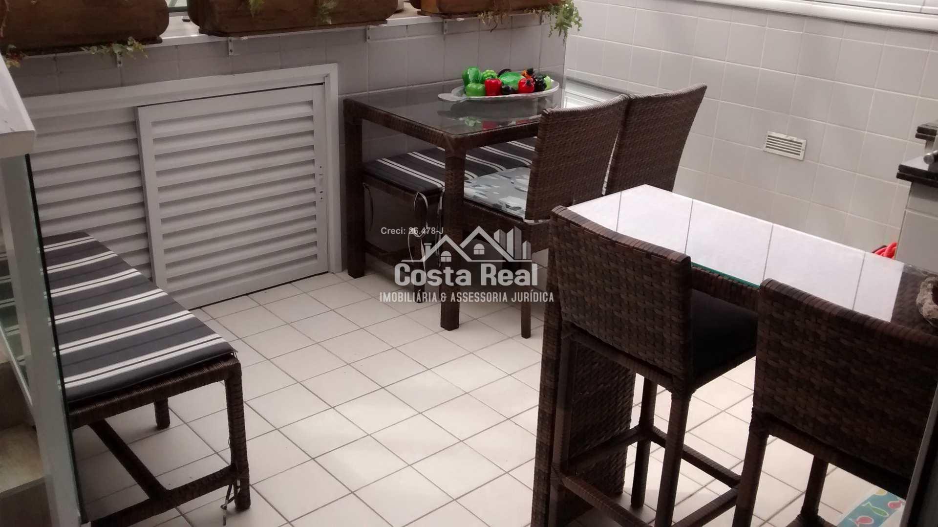 Cobertura com 4 dorms, Tupi, Praia Grande - R$ 2 mi, Cod: 954