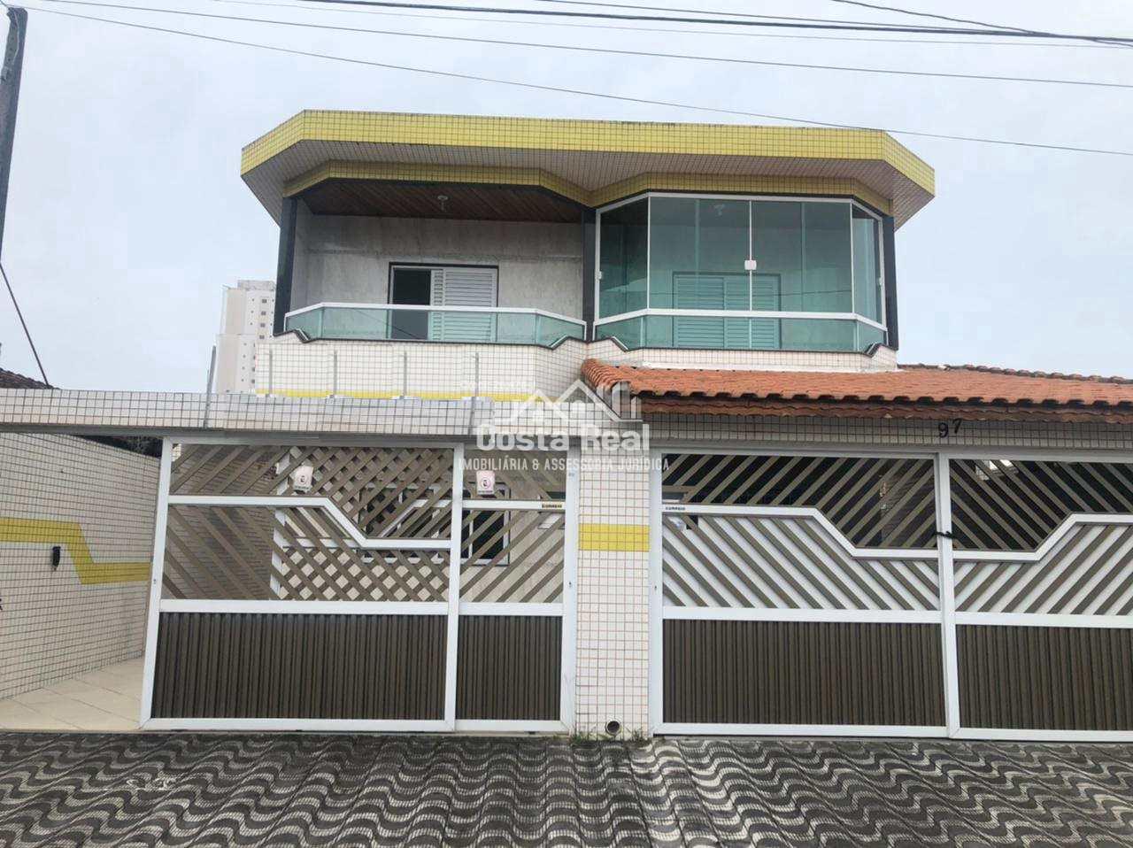 Sobrado com 4 dorms, Tupi, Praia Grande - R$ 495 mil, Cod: 1226
