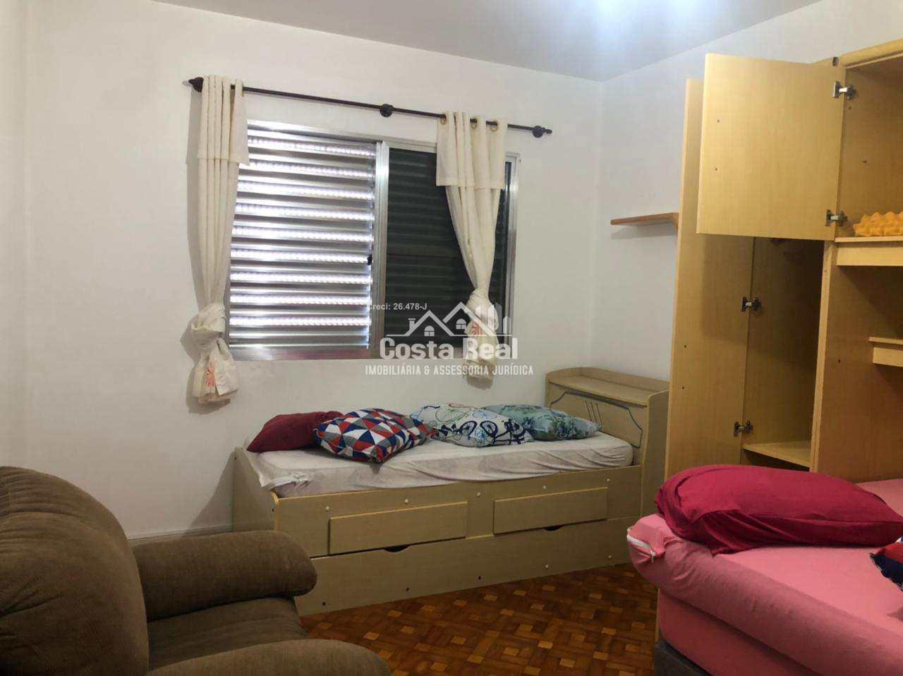 Apartamento com 3 dorms, Ocian, Praia Grande - R$ 320 mil, Cod: 1232